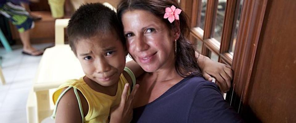 Cordaid Kinderstem met Isa Hoes, Filipijnen
