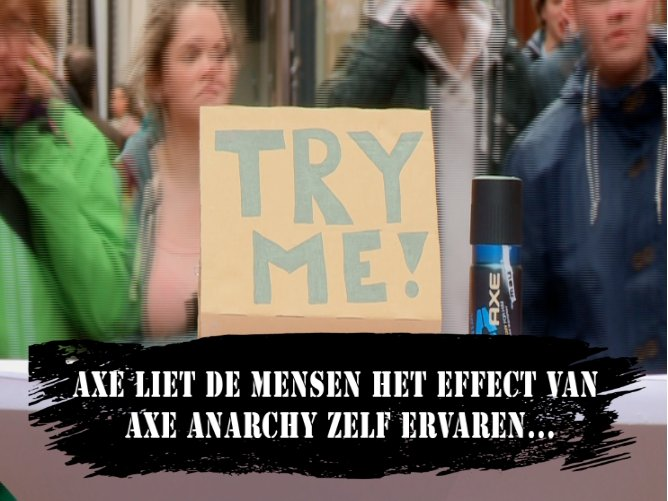 AXE VIRAL: Try me!