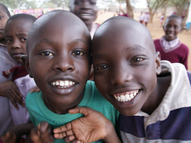 Wees de foto, Kenia